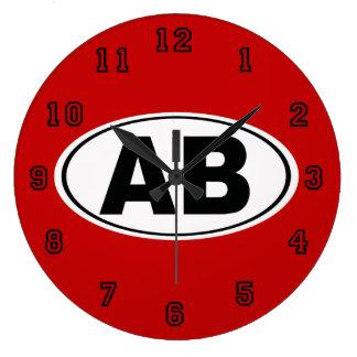 AB Atlantic Beach Florida Large Clock