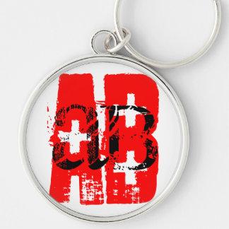 AB + Blood Type - Keychain