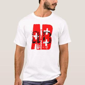 AB+ blood type shirt