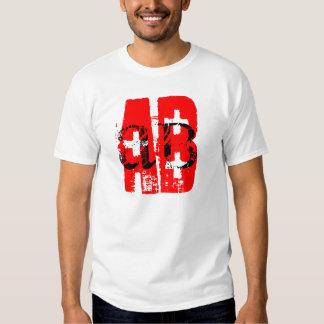 AB + = blood type T Shirt
