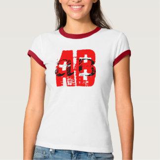 AB+ = blood type Tee Shirt