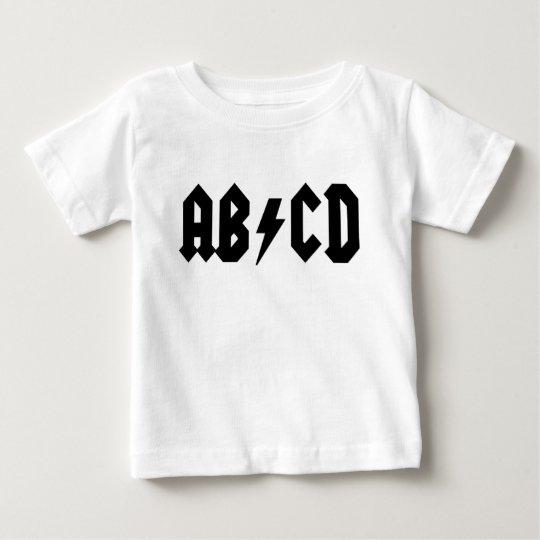 AB/CD Baby Shirt