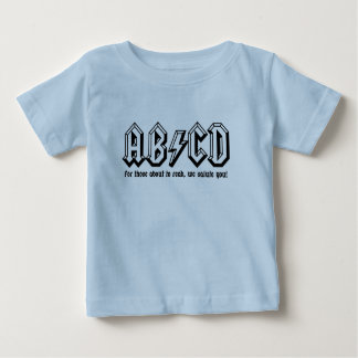 AB/CD - Get ready to READ! Infant T-shirt