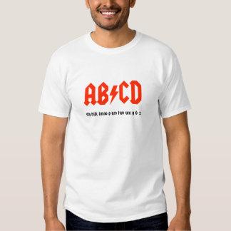 AB/CD T SHIRT