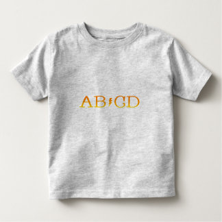 AB/CD TEE SHIRT