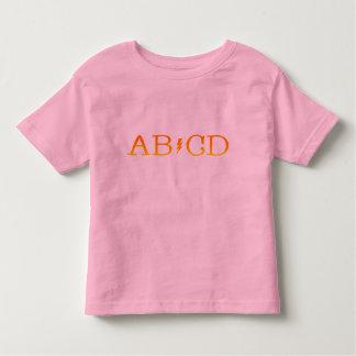 AB/CD TODDLER T-SHIRT