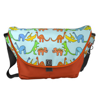 AB Dinosaur Diaper Bag/ Carry Bag/ Baby 4 Life Messenger Bag