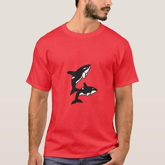 AB- Fun Leaping Killer Whales Shirt