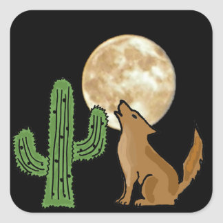 AB- Howling Coyote Stickers