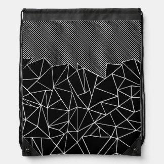 Ab Lines 45 Drawstring Bag