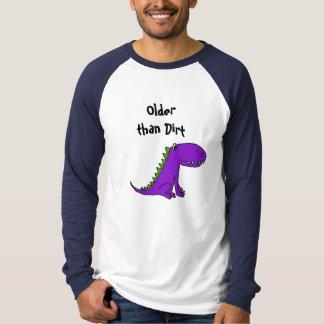 AB- Older than Dirt Dinosaur shirt. T-Shirt