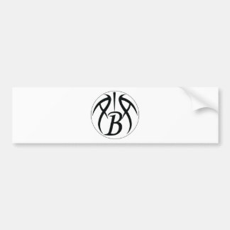 ABA Black Bumper Sticker