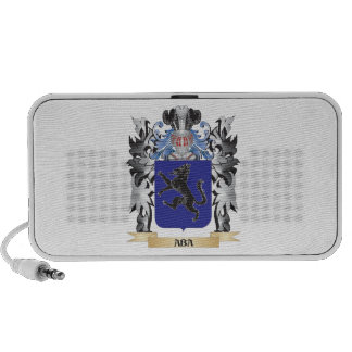 Aba Coat of Arms - Family Crest PC Speakers