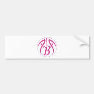 ABA Hot Pink Bumper Sticker