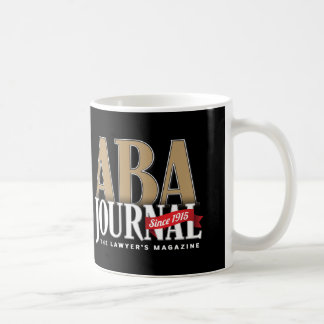 ABA Journal Coffee Mug (Black on White)