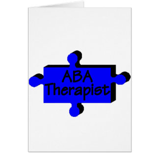ABA Theapist (P Piece) Card