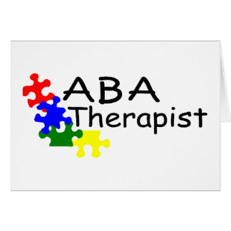 ABA Therapist (4 Pieces) Card