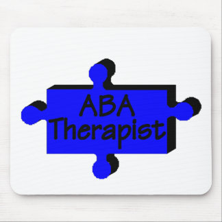 ABA Therapist (Blue) Mouse Mat