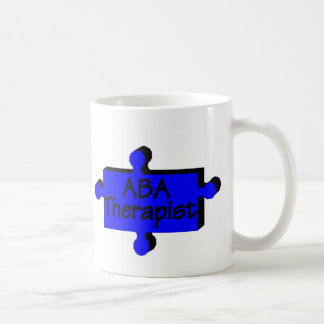 ABA Therapist (Blue P) Coffee Mug