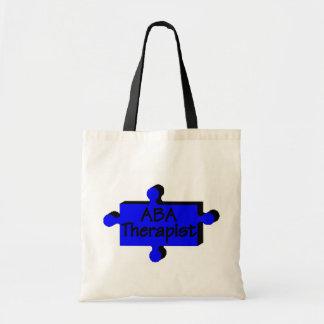 ABA Therapist (Blue P) Tote Bag