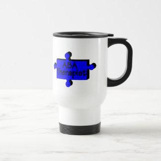 ABA Therapist (Blue P) Travel Mug