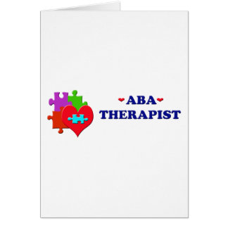 ABA Therapist Card