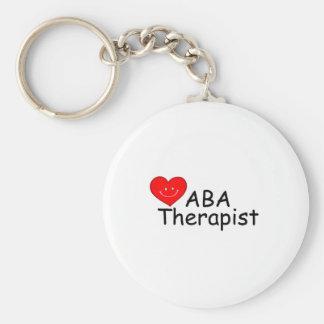 ABA Therapist (Heart) Key Chains