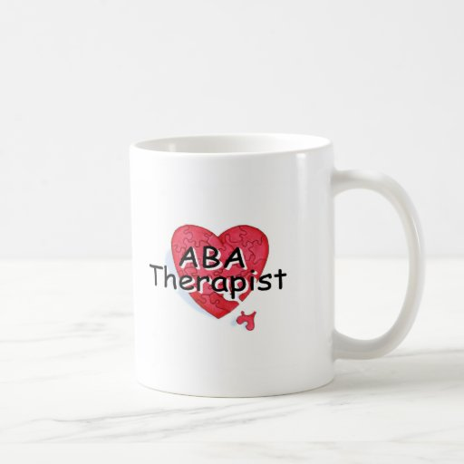 ABA Therapist (Hrt Puzzle) Coffee Mug