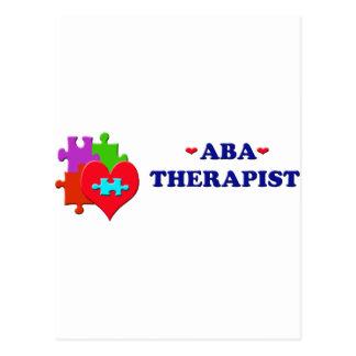 ABA Therapist Post Card