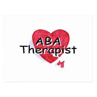 ABA Therapist Postcard