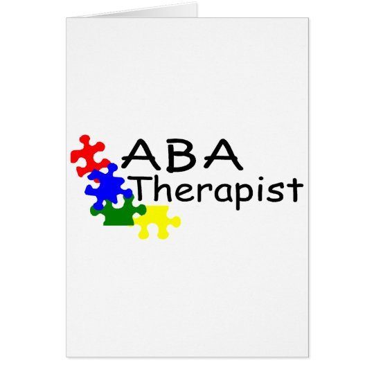 ABA Therapist (PP) Card