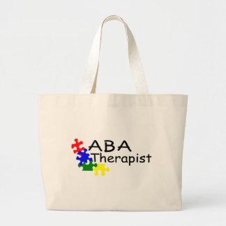 ABA Therapist (PP) Large Tote Bag