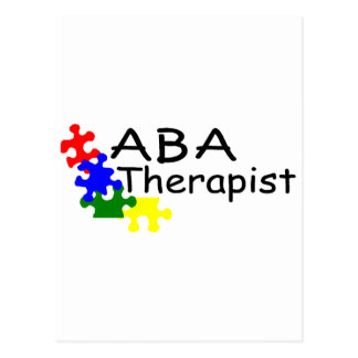 ABA Therapist (PP) Postcard