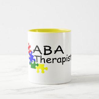 ABA Therapist (PP) Two-Tone Coffee Mug