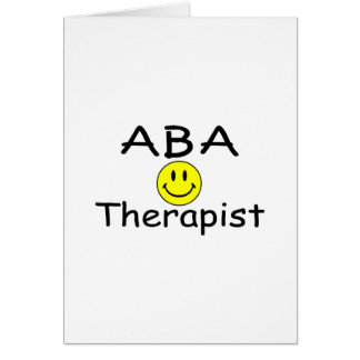 ABA Therapist (Smiley) Card