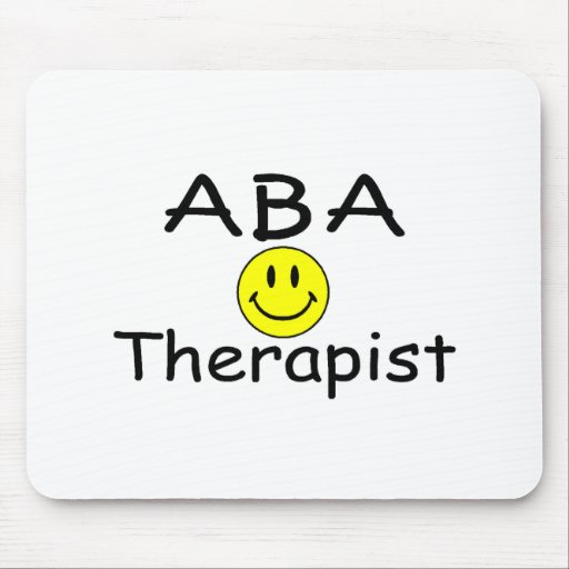 ABA Therapist (Smiley) Mouse Mats