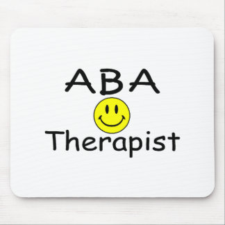 ABA Therapist (Smiley) Mouse Pad