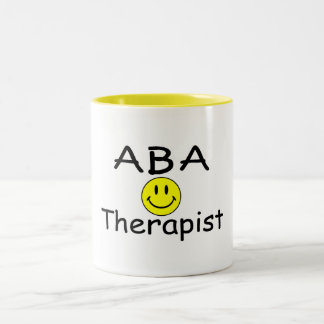 ABA Therapist (Smiley) Mugs
