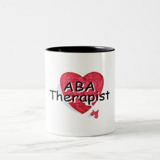 ABA Therapist Two-Tone Coffee Mug