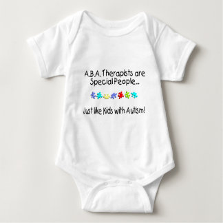 ABA Therapists Are Special People... Baby Bodysuit