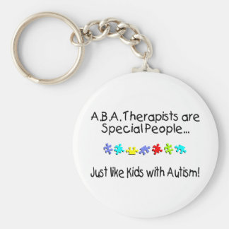 ABA Therapists Are Special People Key Chain