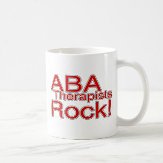 ABA Therapists Rock Coffee Mug