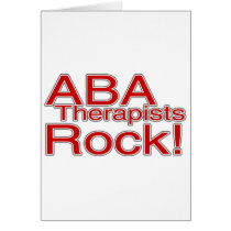 ABA Therapists Rock (Red)