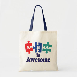 ABA Therapy Is Awesome Tote Bags