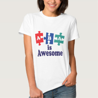 ABA Therapy Is Awesome T Shirt