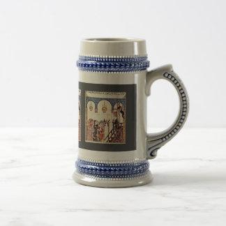 Aba 'Zayd Preaching In The Morschee Of Samarkand Coffee Mug