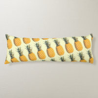 abacaxi / pineapple body pillow