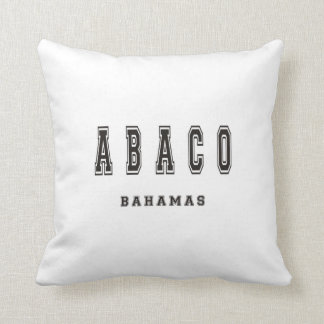 Abaco Bahamas Throw Pillow