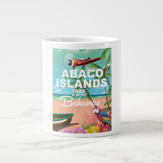 Abaco Islands vacation poster Giant Coffee Mug
