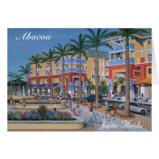 Abacoa Town Center Jupiter Florida Greeting Cards